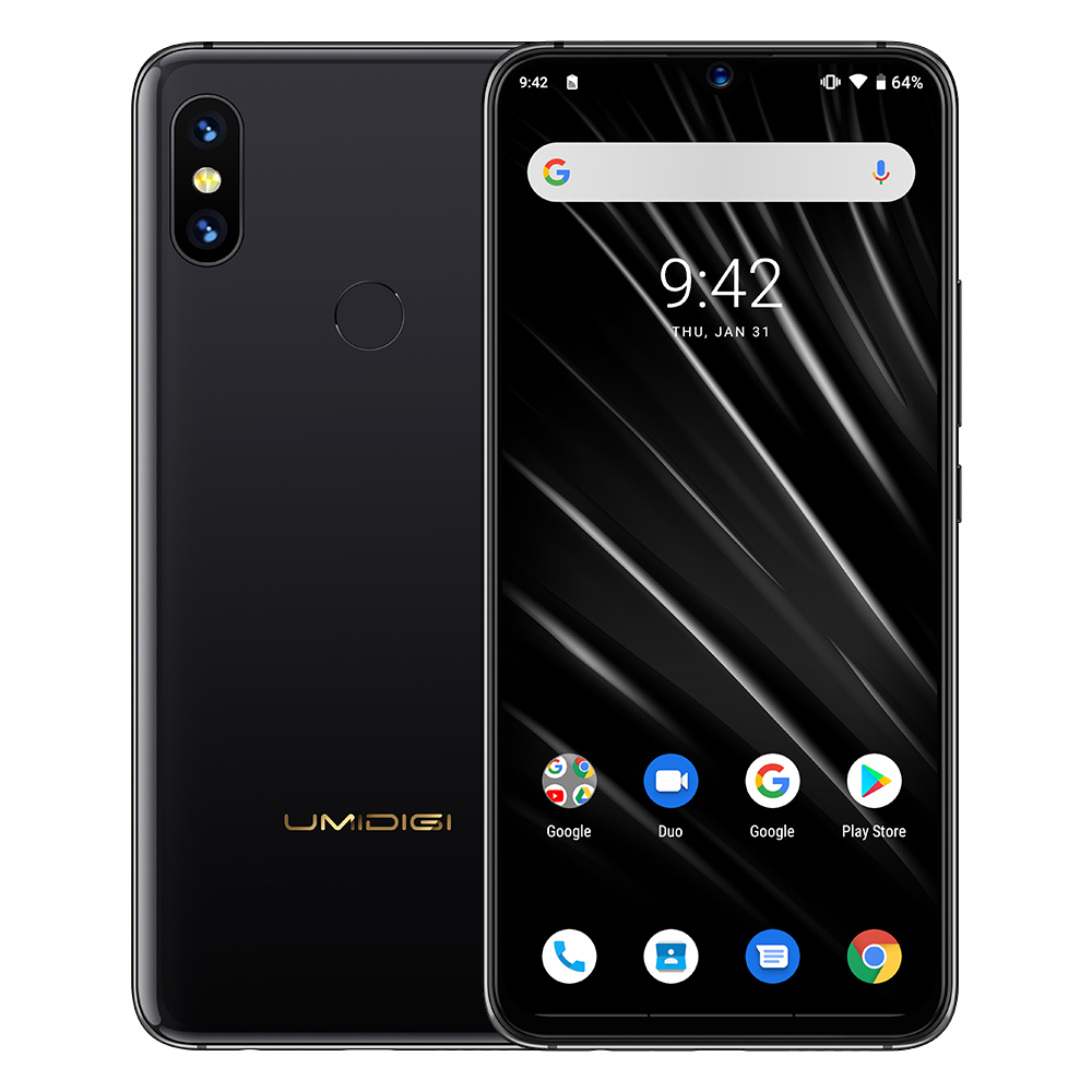 "Image 5 - UMIDIGI S3 PRO Ceramic 6GB 128GB Helio P70 Android 9.0 6.3"" FHD+ 48MP+12MP Back Cameras 20MP Selfie Camera 5150mAh Smartphone-in Cellphones from Cellphones & Telecommunications"