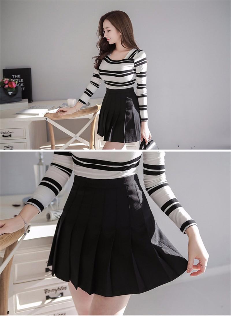 pleated skirt 03