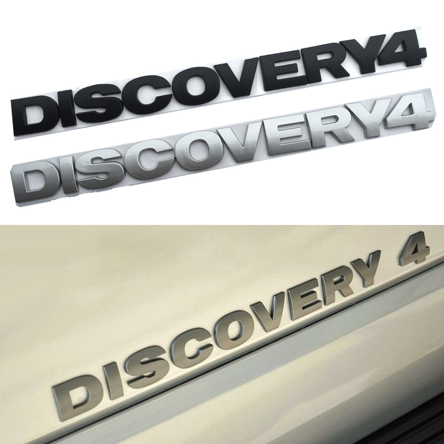 Rubber mats discovery 4 - Huanlisun Free Shipping For Lr Discovery 4 Hood Emblem Logo Stickers Chrome Car Styling Front Or