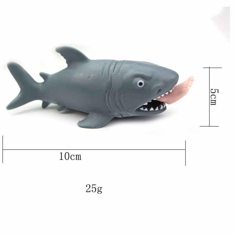 1 шт. мини мягкие игрушки сжимающие стресс игрушки акула антистрессовый шар смешная альтернатива Юмористические игрушки для снятия стресса для детей и взрослых