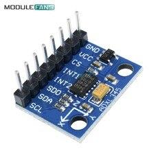 ADXL345 A Tre assi Digitale di Accelerazione di Gravità Tilt Module AVR ARM MCU Per Arduino 3 V-5 V protocollo di Comunicazione IIC SPI
