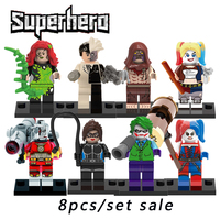 Building Blocks Compatible Legoinglys The Avengers Superheros Starwars X Men Joker Harley Quinn Action Figures Bricks