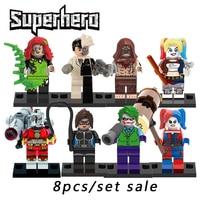 Building Blocks Compatible Legoinglys The Avengers Superheros Starwars X Men Joker Harley Quinn Action Figures Bricks