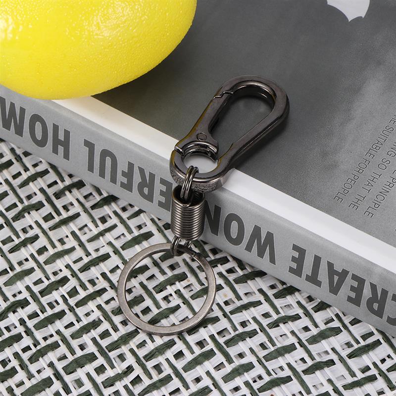 AOZBZ автомобильный брелок, простой крепкий карабин, брелок для альпинизма, брелок для ключей, кольца из нержавеющей стали, подарок для мужчин, авто Интерьер