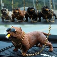 Автомобильные украшения для собак, Креативные аксессуары для интерьера, украшения для собак