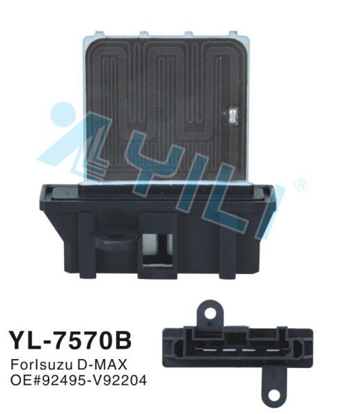 Frete Grátis Automotive ar condicionado resistor Soprador para D-max isu zu D-max resistor OE #92495-V92204