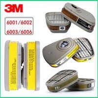 2 stücke/4 stücke/5 stücke/9 stücke 3 M 6001cn Organische Dampf Atemschutz Filter Patrone Für 3 M 7502 6200 Gas Maske