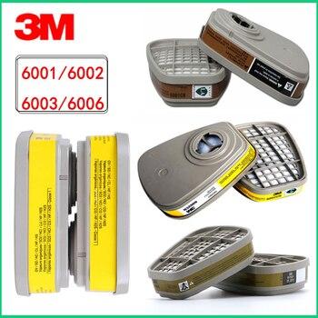 3M cartridge filter 6001/6002/6003/6006 Spray paint filter box anti-virus Acid gas with 6200/7502/6800 mask