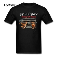 3XL Green Day Punk Band Summer T Shirt Men 100 Cotton Short Sleeve Men T Shirt