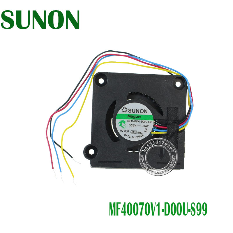 New CPU Cooling Fan For SUNON MF40070V1-D00U-S99