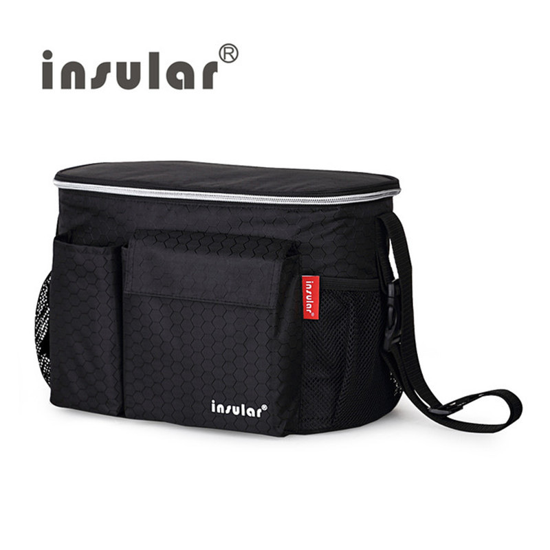 Free Shipping Thermal Insulation Baby Diaper <font><b>Bags</b></font> Waterproof Mommy <font><b>Bag</b></font> Stroller <font><b>Bag</b></font> Cooler <font><b>Bag</b></font>