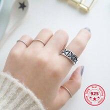 Женские кольца из стерлингового серебра 925 пробы в Корейском