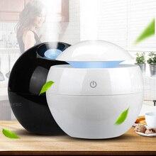Сменные аромат эфирного масла диффузор Mini USB увлажнитель воздуха Портативный ультразвуковой увлажнитель воздуха туман Воздухоочистители светодиодный ночник