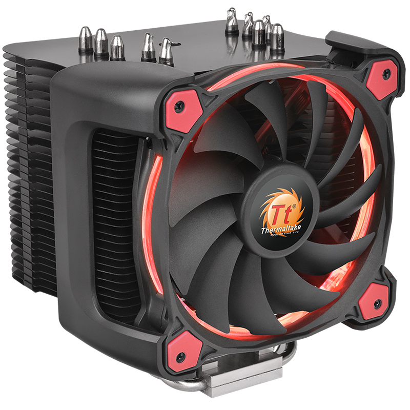 Thermaltake Multi-platform CPU Radiator Silent12 Pro Temperature Control Fan Aluminum Fin 5 Heat Pipe image