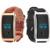 Universal Hombres Mujeres Wristband LLEVÓ la Pantalla de Visualización De la Frecuencia Cardíaca Bluetooth Heart Rate Monitor Perseguidor de La Aptitud Band