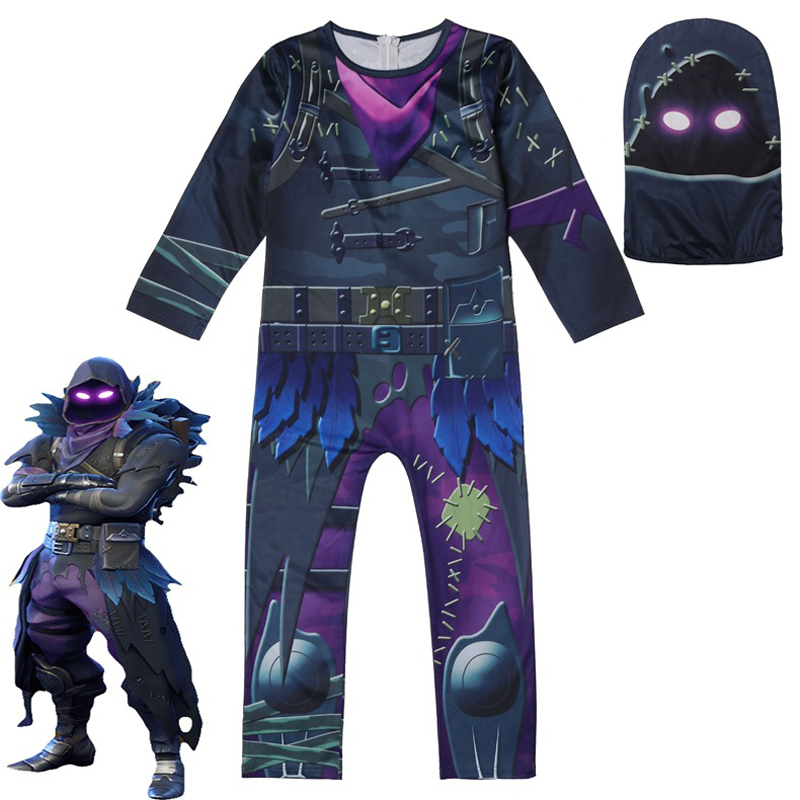 kids Halloween clothes cosplay provided game role playing game ninjago costume Spiderman toddler boys clothing set fall
