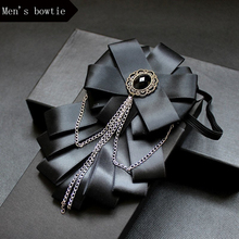 New  fashion bow tie wedding ties male bowtie solid color butterfly for mens bowties party Business Accessories