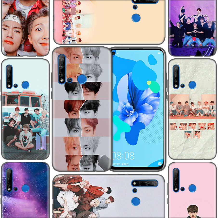 Bag Casing Coque Shell Covers Case For Huawei P9 P10 P20 P30 Mate 10 20 30 Lite Pro P Smart 2019 2017 Korean popular KPop team