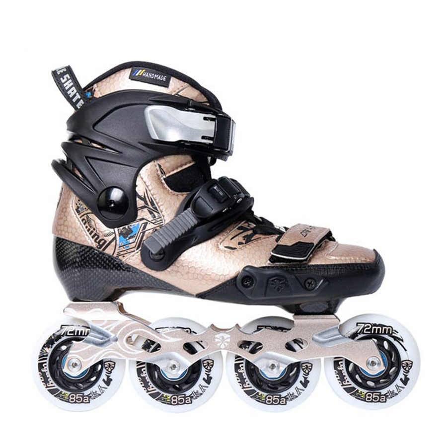 c4b5f8a2b8a585 Оригинальный Flying Eagle младший ребенок роликов термопластичный  углеродного волокна детская обувь для роликов, скейтборда скольжение