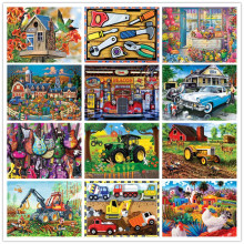 Full 5D diamond embroidery diy diamond painting cross stitch set animal cartoon mosaic picture home decoration цена