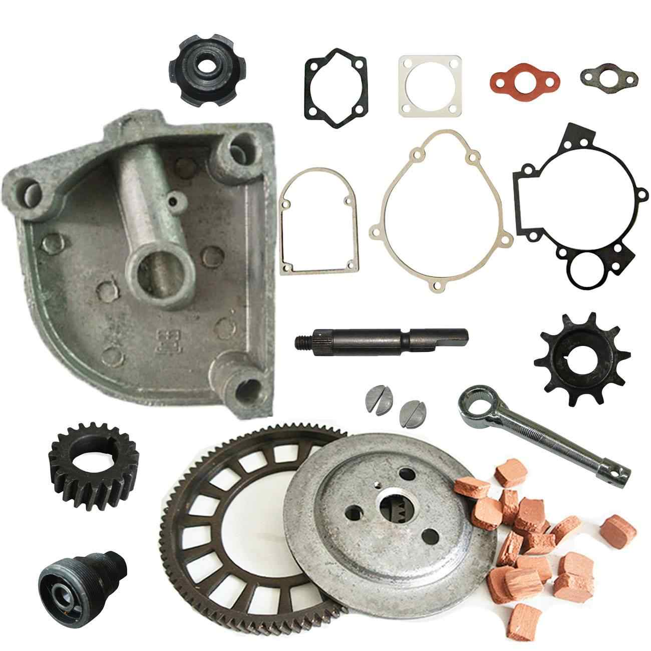Supermotorparts 1pc Sprocket Clutch Cover Fits 49CC 66CC 80CC Engine Motor Motorized Bicycle