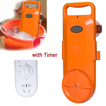 220v Authentic Cheap ABS portable Mini Washing Machine Wall hanging MINI Bucket Clothes washer timing 15min fast power wash 150W