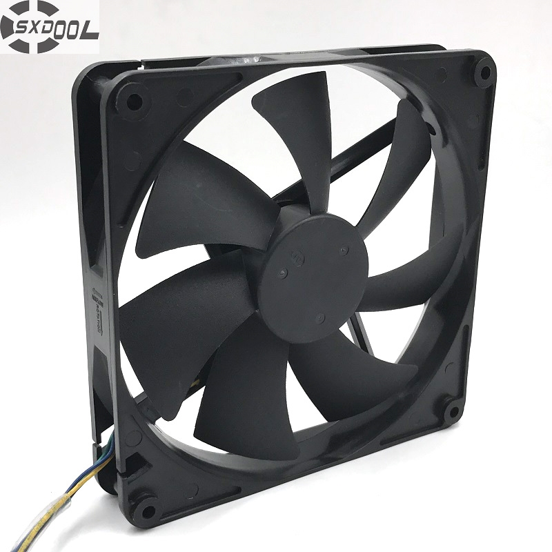 New 14025 D14BH-12 DC12V 0.70A 14CM 140 140 25mm Chassis Power Fan