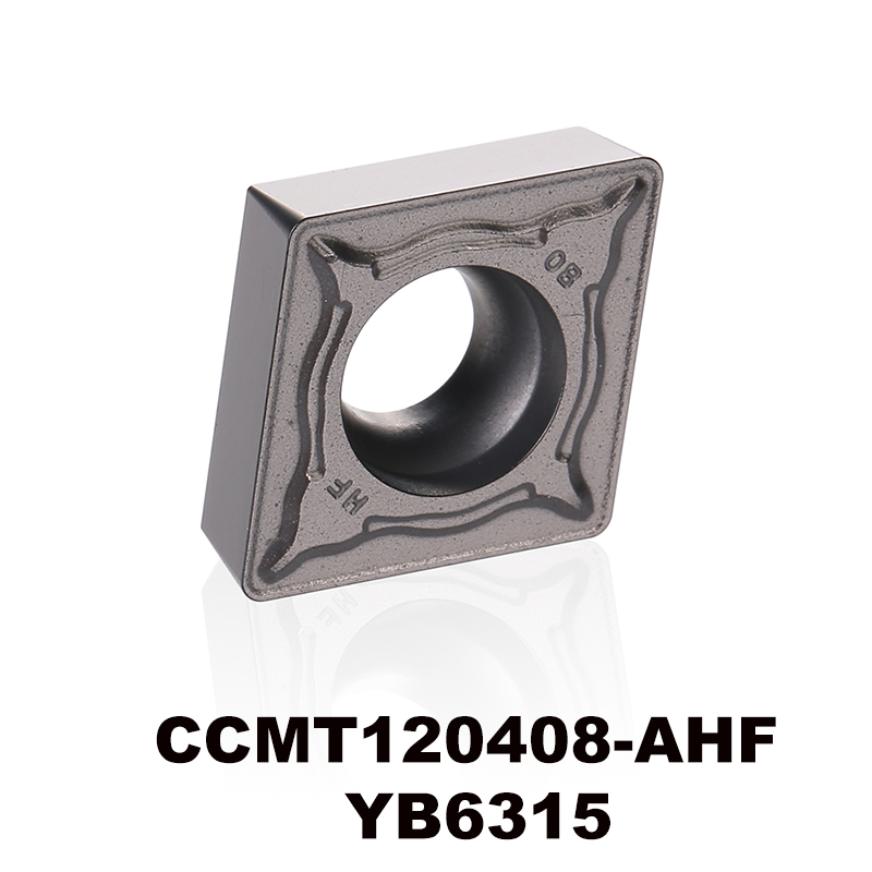 CCMT120408-AHF YB6315 for P type material tungsten carbide turning insert CNC tool CCMT120408 <font><b>CCMT</b></font> <font><b>120408</b></font> CCMT432 image