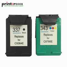 einkshop 337 343 Refilled Ink Cartridge Compatible for hp 337 343 Photosmart C4180 2575 Deskjet 6940 D4160 Officejet 6130 einkshop compatible ink cartridge for hp 337 343 for hp photosmart c4180 2575 8050 d5160 c4190 deskjet 6940 d4160 printer