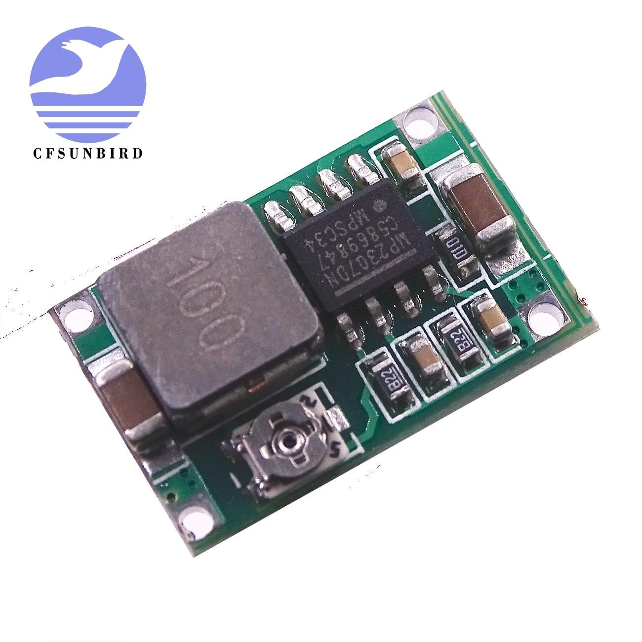 100PCS LOT Mini360 DC DC Buck Converter Step Down Module 4 75V 23V to 1V 17V