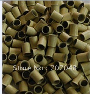 High quality copper  Micro Beads Link 1000 pieces per bottle Blond  color .
