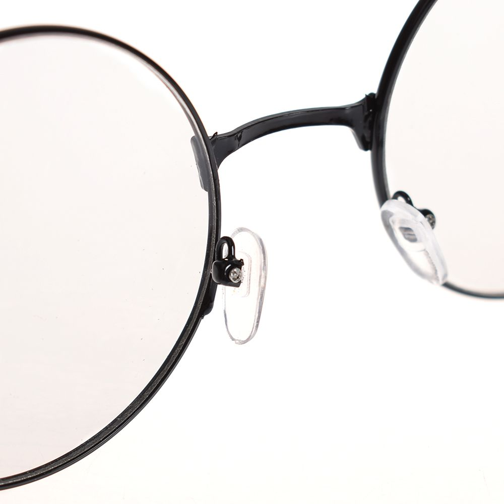 6c7a933212 Fashion Vintage Retro Metal Frame Clear Lens Glasses Nerd Geek Eyewear  Eyeglasses Oversized Round Circle ...