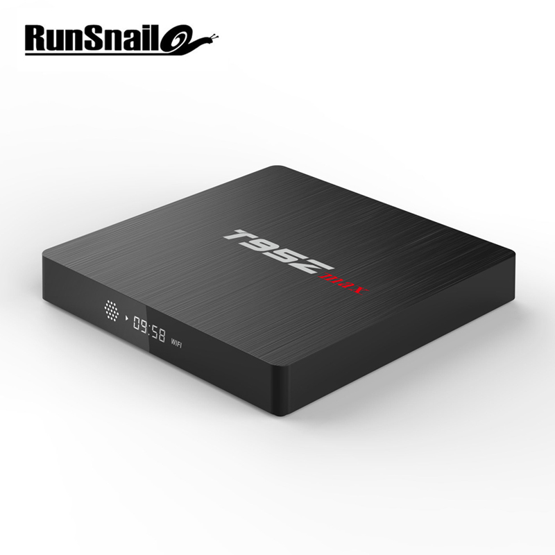 T95Z Max умный ТВ BOX Android 7,1 Декодер каналов кабельного телевидения 2 ГБ 16 ГБ 3 ГБ 32 ГБ Встроенная память Восьмиядерный S912 2,4 г/5 г двойной WI-FI HD 4k BT4.0 ...
