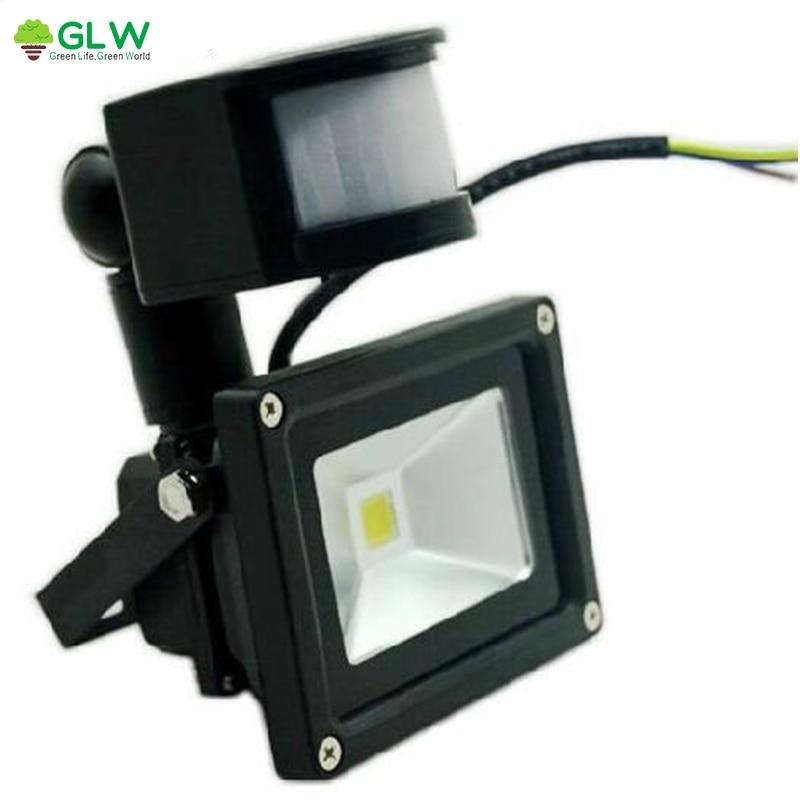 LED Flood Light 10W Outdoor Buitenlamp PIR Spotlight LED