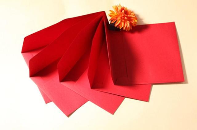Umschlag Set Spezielle Hochzeit Einladung Einladungen, Rot Individualität  Kreative Geschenk Tasche Papiere Hatte Einladungsumschlag