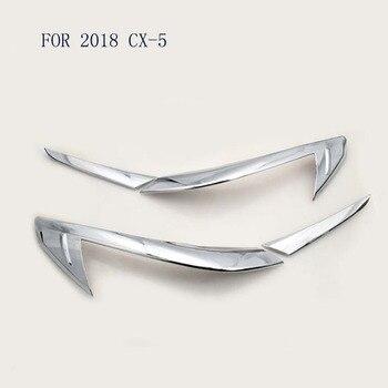 High Quality ABS Chrome Rear Tail Light Strip Trim FIT FOR Mazda CX5 CX-5 2017 2018