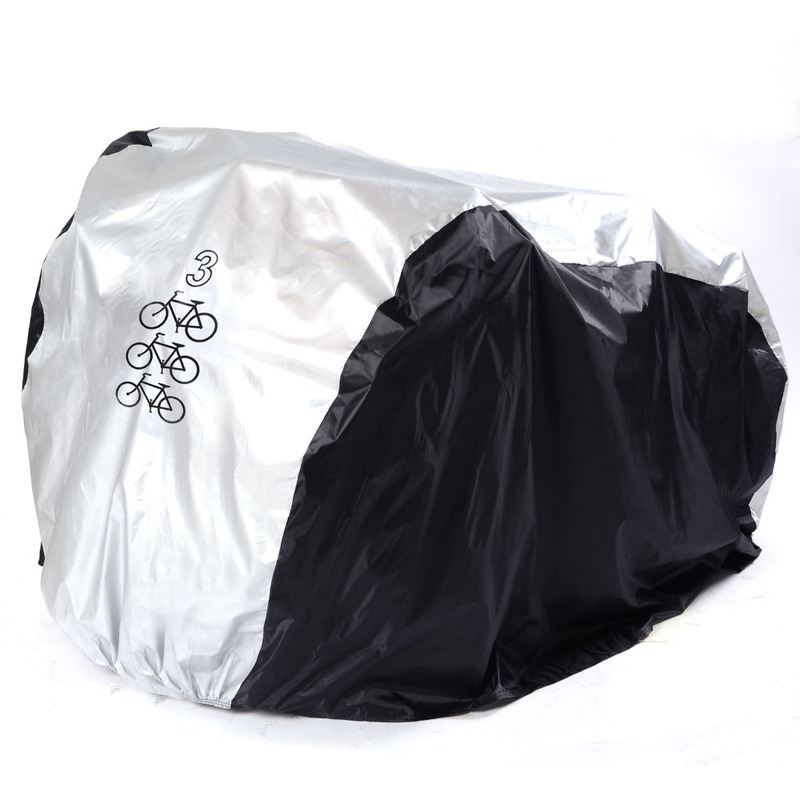 New Bike Rain Dust Cover Waterproof Outdoor Scooter Protector Gray For Bike Utility Cycling Outdoor Bicycle Protector