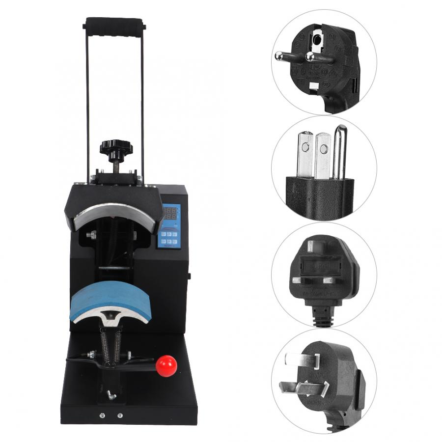 Multifunctional Professional All Aluminum Transfer Hat Printing Heat Press Machine