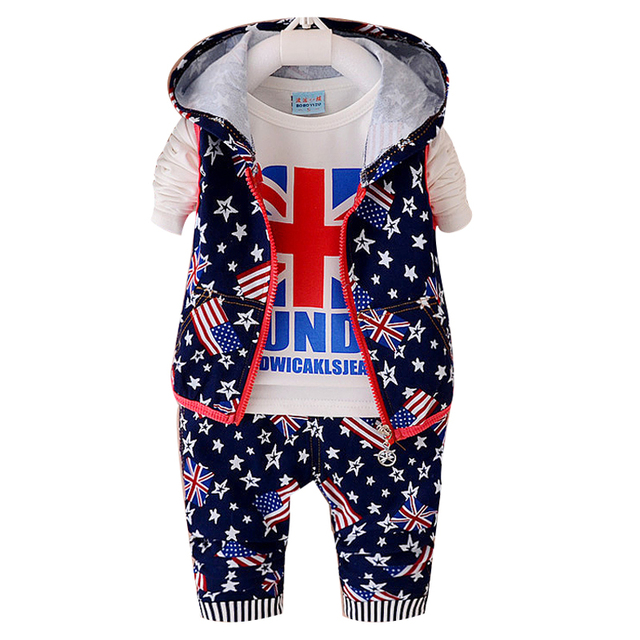a197c7b85 3 pieces Set Toddler Baby Boys Clothes Outfit Boy Kids Wedding Party ...