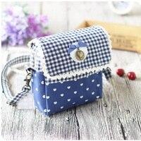 Pamuk kadın sikke çantalar bow & dantel organizatör cüzdan çanta kadın küçük telefonu keseleri carteiras bolsas feminina bolsos kızlar için