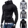 Мужчины Толстовки Куртки С Капюшоном Пальто Мода Зима С Длинным Рукавом Пуловер