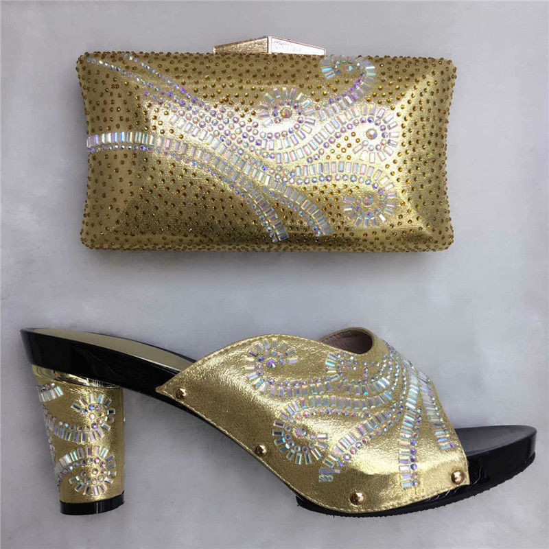 ФОТО Italy Shoes And Bags Fashion African Shoes With Bags High Quality Italian Shoe With Matching Bag For Party And Wedding TT16-36