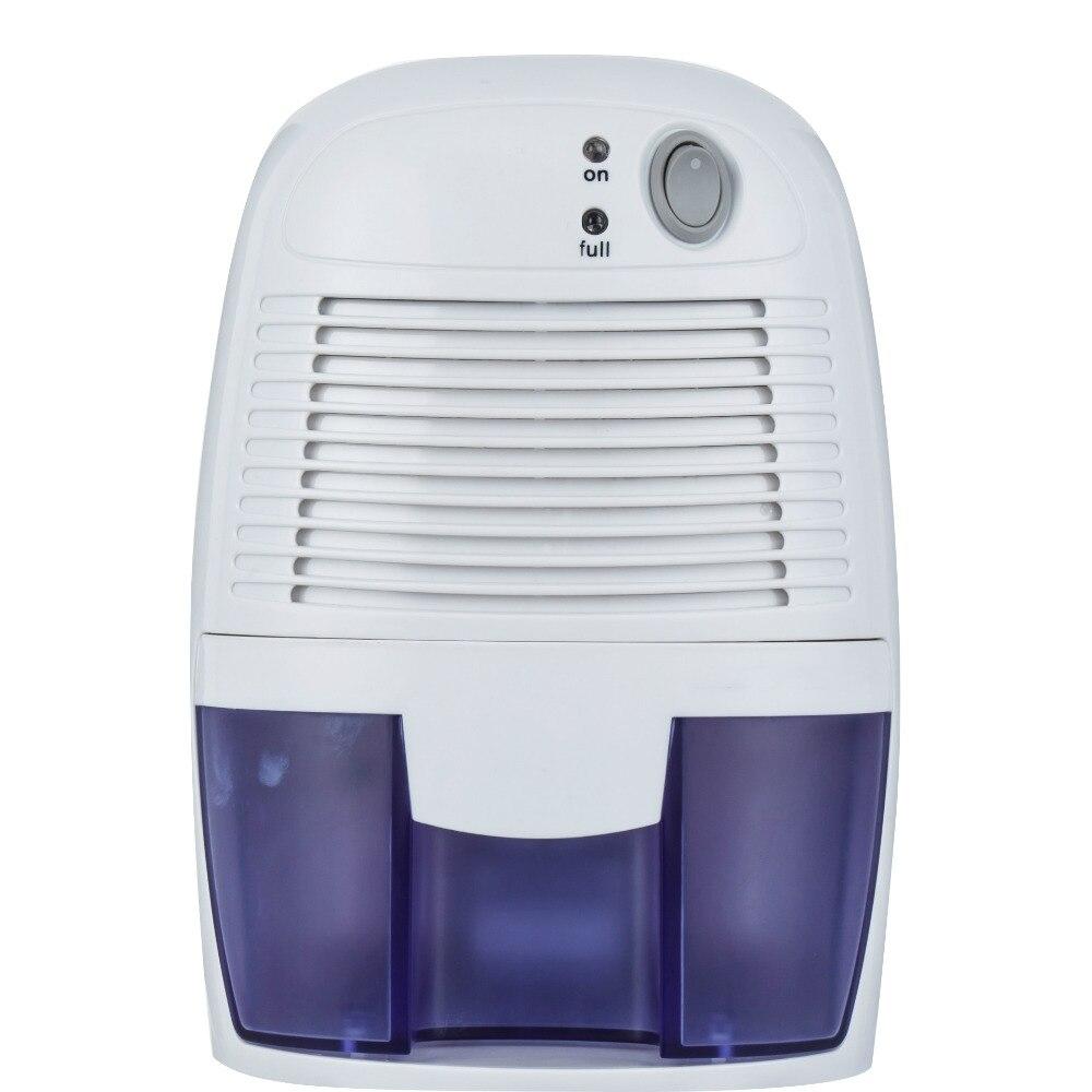 Mini Dehumidifier with 500ML Water Tank Portable Air Dehumidifier Moisture Absorber for Home Bathroom Kitchen Quiet Air Dryer#*