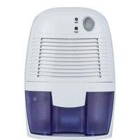 Mini Desumidificador com 500 ML Tanque de Água Umidade Absorvente Desumidificador De Ar Portátil para Casa Cozinha Banheiro Tranquila Secador de Ar # *