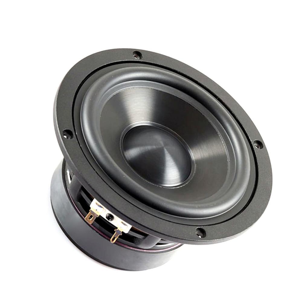 AIYIMA 1Pc 50W Mini Audio Portable Speaker 4 8Ohm Middle Bass Hifi Speakers Altavoz Altavoces Parlantes