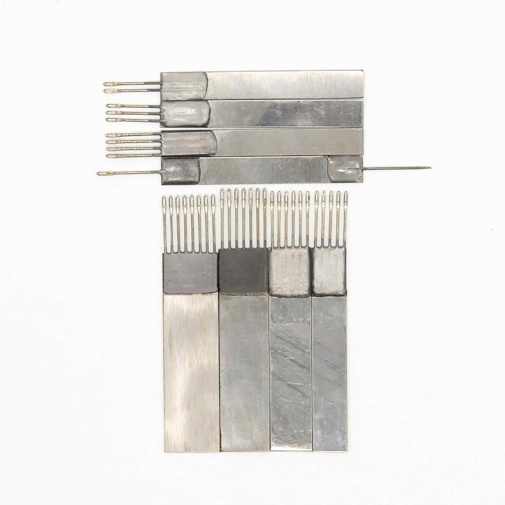8PCS Stainless Steel Transfercomb Transfer Tool Standard Gauge Needles part for silver reed Brother Knitting Machine Accessary