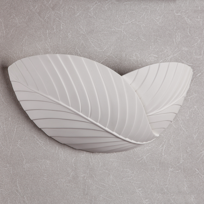 Leaf Shape LED Wall Lamp Bedside Balcony Natural Gypsum Lamp Simple Modern Village Wall LampLeaf Shape LED Wall Lamp Bedside Balcony Natural Gypsum Lamp Simple Modern Village Wall Lamp