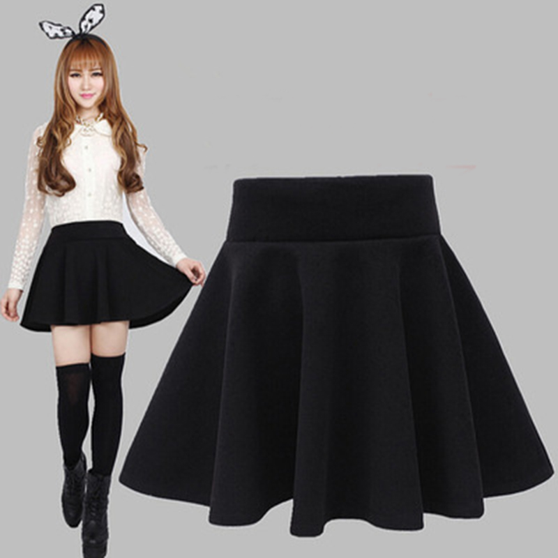 iMucci New style sexy Skirt for Girl lady Korean Short Skater Fashion female mini Skirt Women Clothing Bottoms