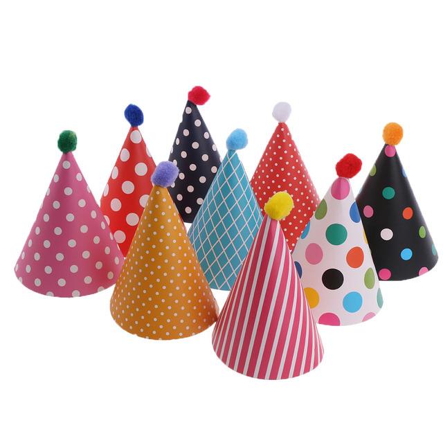 Cute Birthday Hats Set