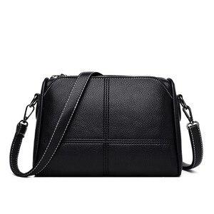 Image 2 - Luxury Handbags Women Bags Designer 2019 Ladies Bag Party Female Leather Shoulder Bag Vintage Women Messenger Bags Sac A Main